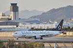 kurubouzuさんが、伊丹空港で撮影した全日空 737-881の航空フォト(飛行機 写真・画像)