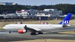 パンダさんが、成田国際空港で撮影したスカンジナビア航空 A330-343Xの航空フォト(飛行機 写真・画像)