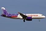 あしゅーさんが、福岡空港で撮影した香港エクスプレス A320-232の航空フォト(飛行機 写真・画像)