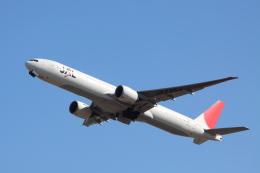 赤ちんさんが、成田国際空港で撮影した日本航空 777-346/ERの航空フォト(飛行機 写真・画像)
