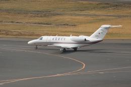 ぽんさんが、羽田空港で撮影した国土交通省 航空局 525C Citation CJ4の航空フォト(飛行機 写真・画像)