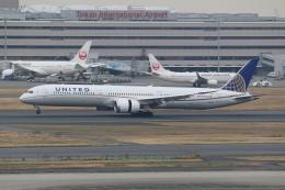 ぽんさんが、羽田空港で撮影したユナイテッド航空 787-10の航空フォト(飛行機 写真・画像)