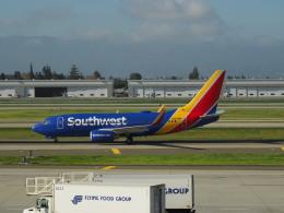 hana父さんが、ノーマン・Y・ミネタ・サンノゼ国際空港で撮影したサウスウェスト航空 737-7H4の航空フォト(飛行機 写真・画像)