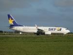 ノリださんが、宮古空港で撮影したスカイマーク 737-86Nの航空フォト(飛行機 写真・画像)