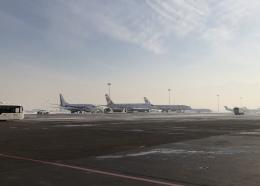 Smyth Newmanさんが、アルマトイ国際空港で撮影したサンデー・エアラインズ 757-21Bの航空フォト(飛行機 写真・画像)
