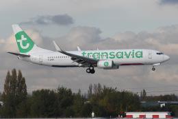 いもや太郎さんが、パリ オルリー空港で撮影したトランサヴィア・フランス 737-84Pの航空フォト(飛行機 写真・画像)