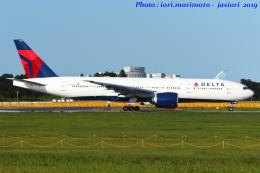 いおりさんが、成田国際空港で撮影したデルタ航空 777-232/LRの航空フォト(飛行機 写真・画像)