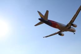 TAK_HND_NRTさんが、高松空港で撮影したアシアナ航空 A320-232の航空フォト(飛行機 写真・画像)