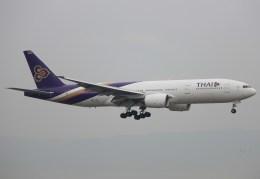キイロイトリさんが、関西国際空港で撮影したタイ国際航空 777-2D7/ERの航空フォト(飛行機 写真・画像)