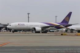 PW4090さんが、関西国際空港で撮影したタイ国際航空 777-2D7の航空フォト(飛行機 写真・画像)