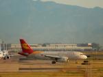 kiyohsさんが、北京首都国際空港で撮影した北京首都航空 A319-132の航空フォト(飛行機 写真・画像)