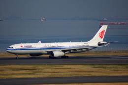 KAZKAZさんが、羽田空港で撮影した中国国際航空 A330-343Eの航空フォト(飛行機 写真・画像)