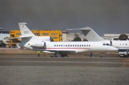 KAZKAZさんが、羽田空港で撮影したスイス企業所有 Falcon 8Xの航空フォト(飛行機 写真・画像)