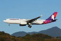 よっしぃさんが、福岡空港で撮影したハワイアン航空 A330-243の航空フォト(飛行機 写真・画像)
