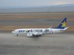 くまのんさんが、中部国際空港で撮影したスカイマーク 737-86Nの航空フォト(飛行機 写真・画像)