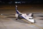るかぬすさんが、小松空港で撮影したANAウイングス DHC-8-402Q Dash 8の航空フォト(飛行機 写真・画像)