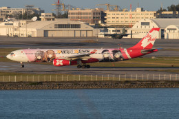 Koenig117さんが、那覇空港で撮影したエアアジア・エックス A330-343Xの航空フォト(飛行機 写真・画像)