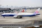 蒼くまさんが、関西国際空港で撮影したチャイナエアライン 777-309/ERの航空フォト(飛行機 写真・画像)