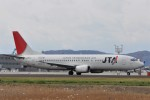 kumagorouさんが、仙台空港で撮影した日本トランスオーシャン航空 737-4Q3の航空フォト(飛行機 写真・画像)