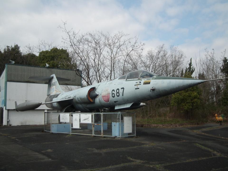 ヒコーキグモさんの航空自衛隊 Mitsubishi F-104 (76-8687) 航空フォト