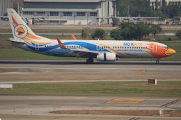 tsubameさんが、ドンムアン空港で撮影したノックエア 737-88Lの航空フォト(飛行機 写真・画像)