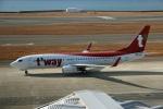 Wasawasa-isaoさんが、中部国際空港で撮影したティーウェイ航空 737-8ASの航空フォト(飛行機 写真・画像)