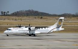 よんすけさんが、マンダレー国際空港で撮影したミャンマー・ナショナル・エアウェイズ ATR-72-600の航空フォト(飛行機 写真・画像)