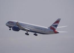 takikoki50000さんが、関西国際空港で撮影したブリティッシュ・エアウェイズ 787-8 Dreamlinerの航空フォト(飛行機 写真・画像)