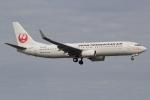 キイロイトリさんが、福岡空港で撮影した日本トランスオーシャン航空 737-8Q3の航空フォト(飛行機 写真・画像)