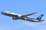 鉄バスさんが、成田国際空港で撮影した全日空 787-9の航空フォト(飛行機 写真・画像)