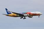 キイロイトリさんが、福岡空港で撮影した全日空 777-281/ERの航空フォト(飛行機 写真・画像)