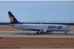 Wasawasa-isaoさんが、中部国際空港で撮影したスカイマーク 737-8HXの航空フォト(飛行機 写真・画像)