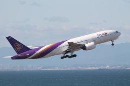 だいすけさんが、中部国際空港で撮影したタイ国際航空 777-2D7の航空フォト(飛行機 写真・画像)