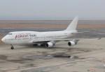 キイロイトリさんが、中部国際空港で撮影したオリエント・タイ航空 747-412の航空フォト(飛行機 写真・画像)