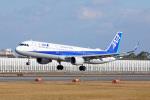 ちゃぽんさんが、伊丹空港で撮影した全日空 A321-211の航空フォト(飛行機 写真・画像)