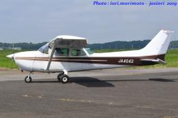 いおりさんが、龍ケ崎飛行場で撮影した日本個人所有 172P Skyhawk IIの航空フォト(飛行機 写真・画像)