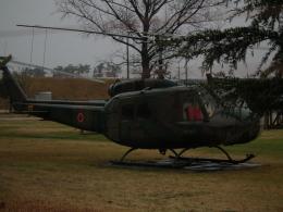 ヒコーキグモさんが、米子駐屯地で撮影した陸上自衛隊 UH-1Hの航空フォト(飛行機 写真・画像)