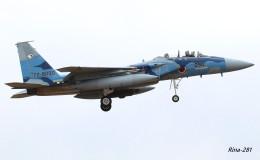 RINA-281さんが、小松空港で撮影した航空自衛隊 F-15DJ Eagleの航空フォト(飛行機 写真・画像)