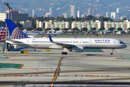 Flankerさんが、ロサンゼルス国際空港で撮影したユナイテッド航空 757-224の航空フォト(飛行機 写真・画像)