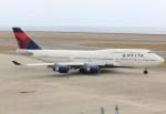 キイロイトリさんが、中部国際空港で撮影したデルタ航空 747-451の航空フォト(飛行機 写真・画像)