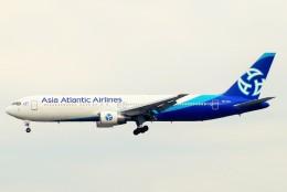 ちっとろむさんが、成田国際空港で撮影したアジア・アトランティック・エアラインズ 767-322/ERの航空フォト(飛行機 写真・画像)