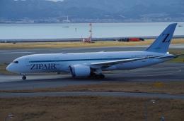 SSB46さんが、関西国際空港で撮影したZIPAIR 787-8 Dreamlinerの航空フォト(飛行機 写真・画像)