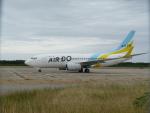ノリださんが、下地島空港で撮影したAIR DO 737-781の航空フォト(飛行機 写真・画像)