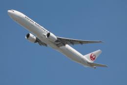 だいすけさんが、ジョン・F・ケネディ国際空港で撮影した日本航空 777-346/ERの航空フォト(飛行機 写真・画像)