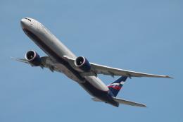 だいすけさんが、ジョン・F・ケネディ国際空港で撮影したアエロフロート・ロシア航空 777-3M0/ERの航空フォト(飛行機 写真・画像)