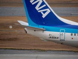 名無しの権兵衛さんが、新潟空港で撮影した全日空 737-881の航空フォト(飛行機 写真・画像)