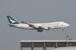 kuro2059さんが、香港国際空港で撮影したキャセイパシフィック航空 747-467F/ER/SCDの航空フォト(飛行機 写真・画像)