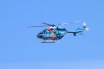reonさんが、名古屋飛行場で撮影した秋田県警察 BK117C-1の航空フォト(飛行機 写真・画像)