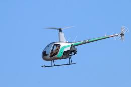 reonさんが、名古屋飛行場で撮影したセコインターナショナル R22 Betaの航空フォト(飛行機 写真・画像)