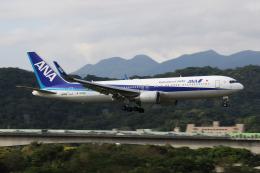 HLeeさんが、台北松山空港で撮影した全日空 767-381/ERの航空フォト(飛行機 写真・画像)